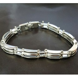 BRACCIALE OUTLET IN ACCIAIO REF.CDID7024