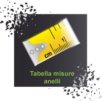 Tabella misure anelli