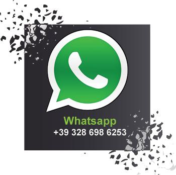 Clicca per contattarci su Whatsapp al   + 39 328 698 6253